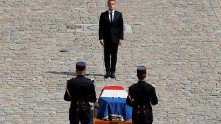 Corpo de Simone Veil vai repousar no Panteão Nacional francês