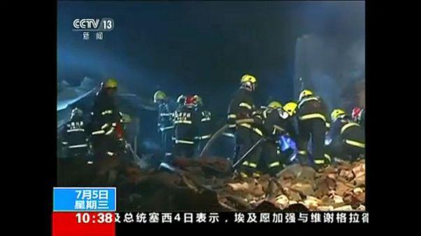 Felrobbant egy gázvezeték Kínában