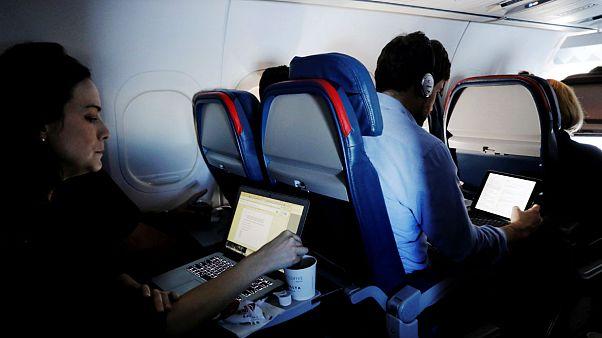 ممنوعیت حمل رایانه در پروازهای آمریکای ترکیش و امارات لغو شد