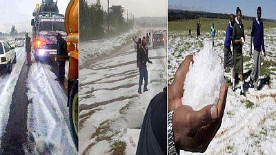 La neige est-elle vraiment tombée au Kenya, en Zambie ou encore au Cameroun ?