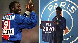 Weah is back in Paris! 17-year-old son signs for PSG on 3-year contract
