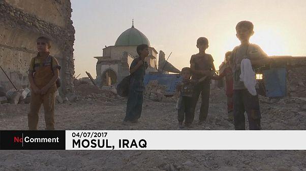 Κάτοικοι της δυτικής Μοσούλης εγκαταλείπουν τα σπίτια τους