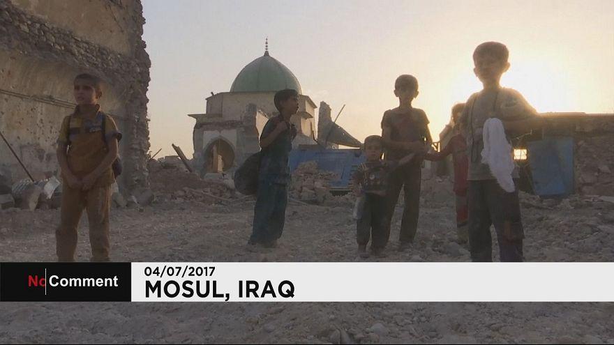 Mossoul : les civils fuient les combats