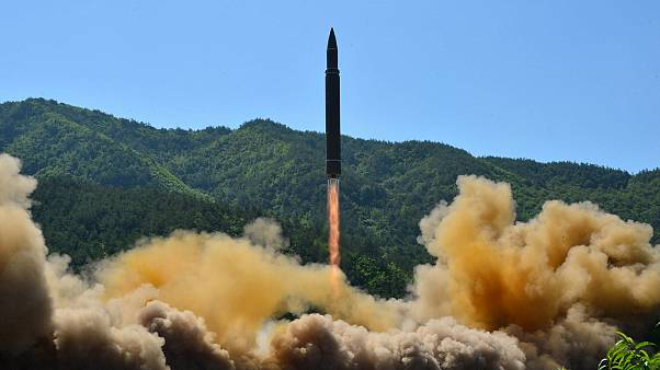For 'American bastards' N.Korea tests ballistic missile