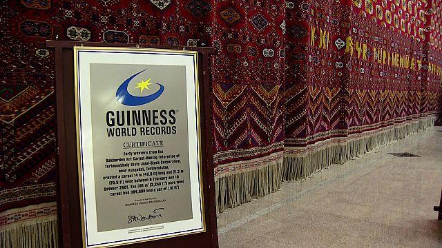 El museo de alfombras de Asjabad