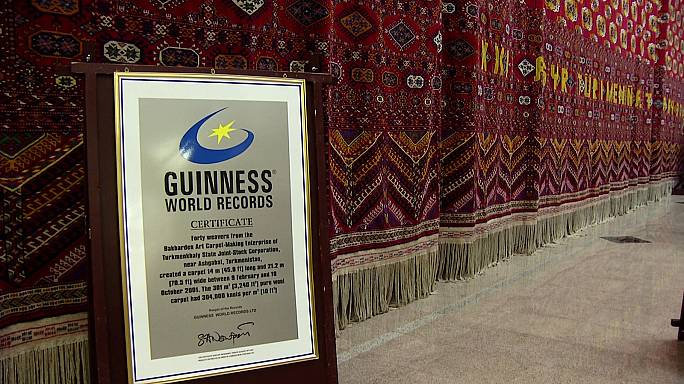 Ashgabat Carpet Museum home to ancient treasures