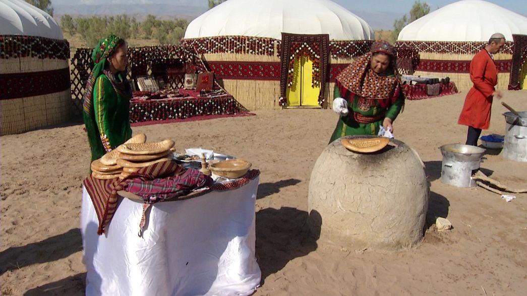 Brasas en el desierto o como guisar un plato tradicional de Turkmenistán