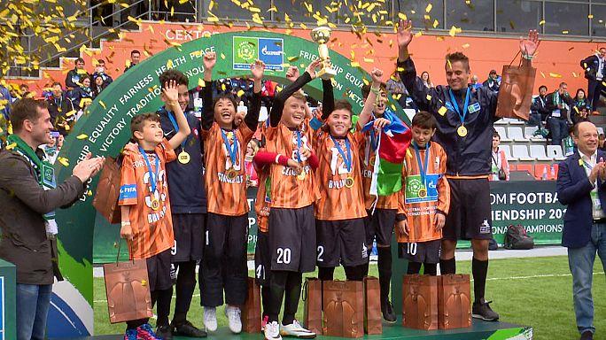 Fútbol por la Amistad 2017: jóvenes futbolistas de todo el mundo se dan cita en San Petersburgo