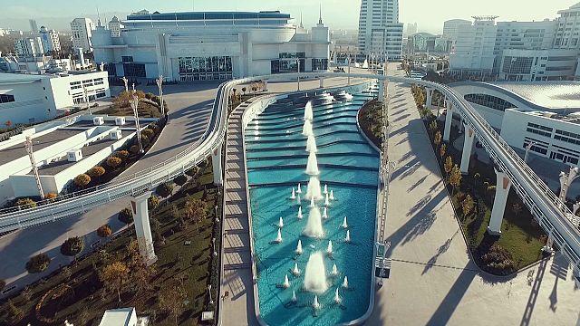 Óriási komplexum épül egy ázsiai olimpiára Türkmenisztánban