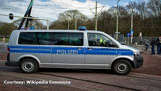 German school evacuated after child brings in bomb