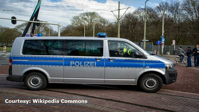 German school evacuated after child brings in bomb