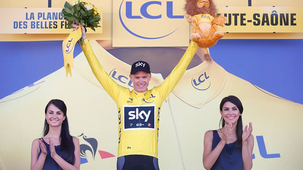 Tour de France: Chris Froome in gelb