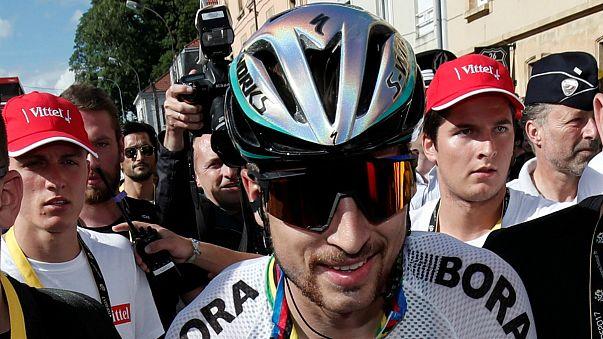 Tour2017: Sagan alega inocência na suposta cotovelada a Cavendish