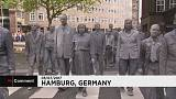 'Zombie March' hits Hamburg ahead of G20 summit