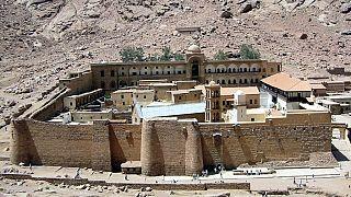 Découverte de rares manuscrits dans le Sinaï