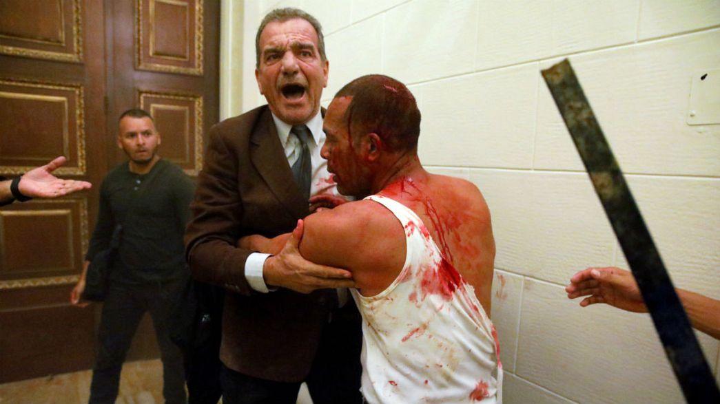 Mais de dez feridos em ataque ao parlamento venezuelano