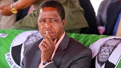 Zambie : le président Lungu sollicite l'instauration de l'état d'urgence