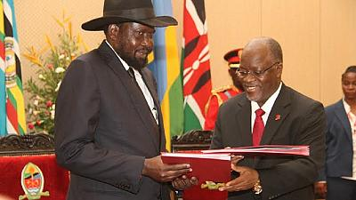 S. Sudan to adopt Swahili as official language, seeks Tanzania's help