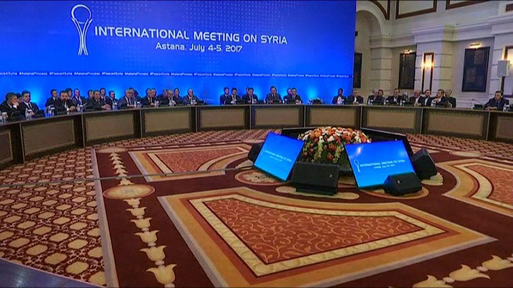 Não há acordo sobre as zonas de segurança na Síria