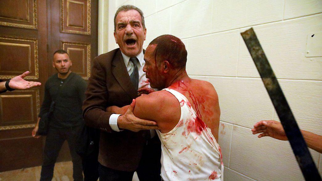 Венесуэла: потасовка в парламенте