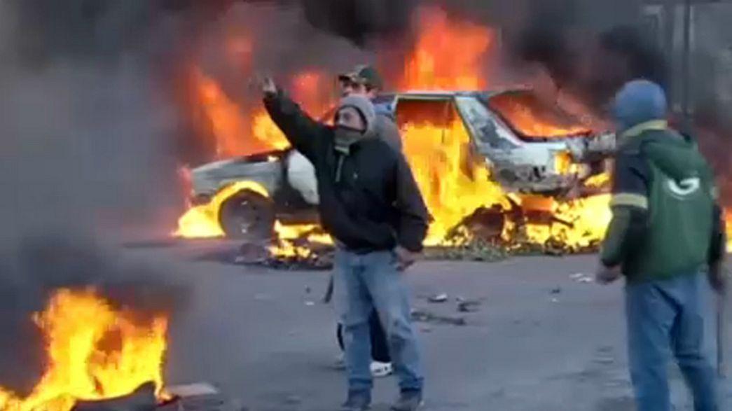 Погромы в пригороде Буэнос-Айреса
