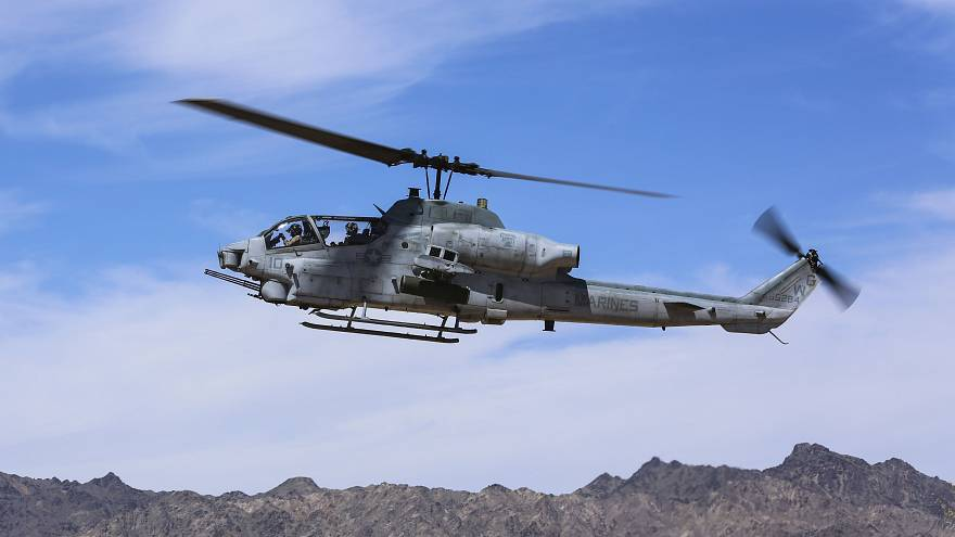Image: AH-1Z Viper attack helicopter