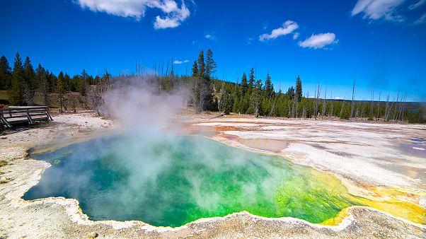 Ezernél is több földrengés volt a Yellowstone Parkban az elmúlt héten
