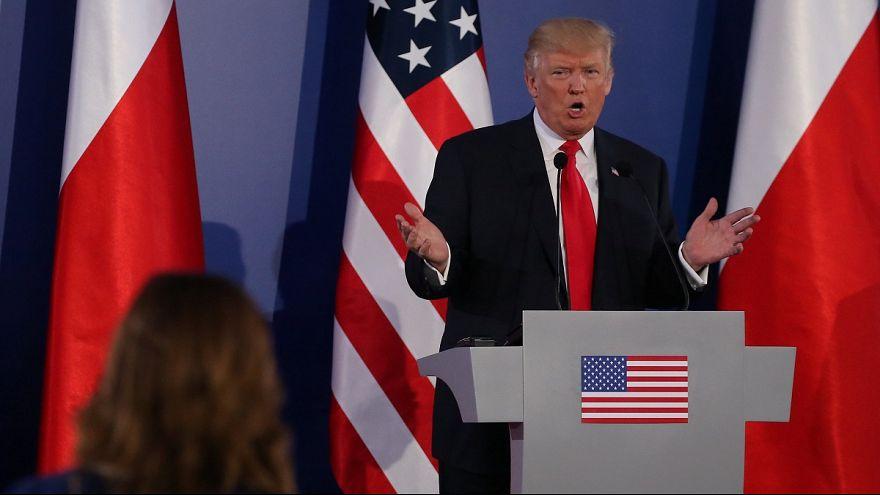Trump en défenseur de l'Occident