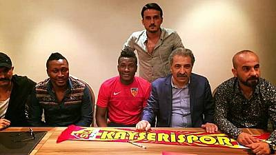 Ghana's Gyan takes Turkish route back to Europe after 5-year Asia stint