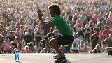 Fitness-Guru hüpft in Guinness-Buch