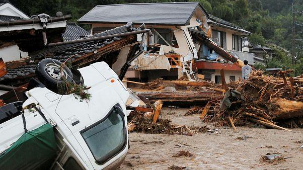 Япония во власти стихии