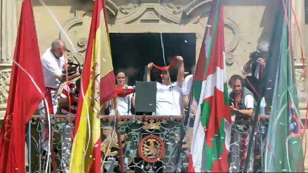 Pamplona, viva San Fermin!