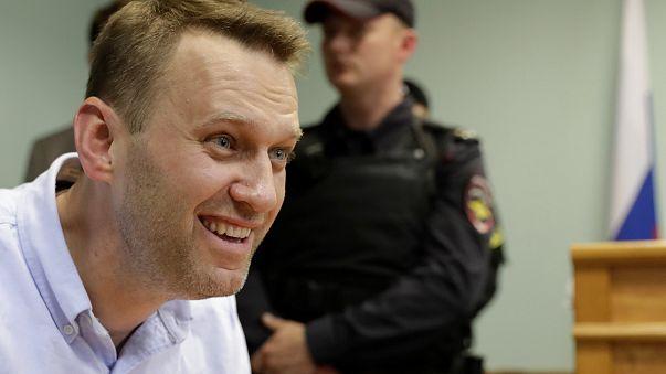 Las autoridades rusas ocupan el local de campaña de Navalny