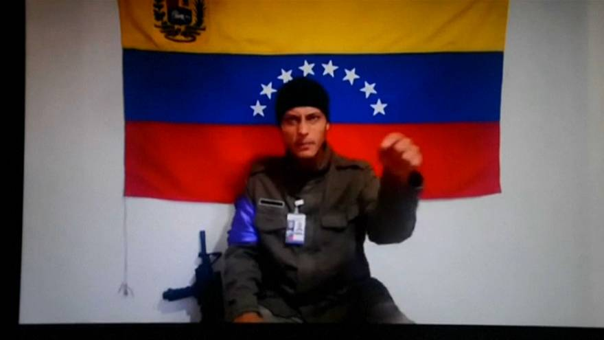 Reaparece Óscar Pérez, el 'Rambo' de Venezuela