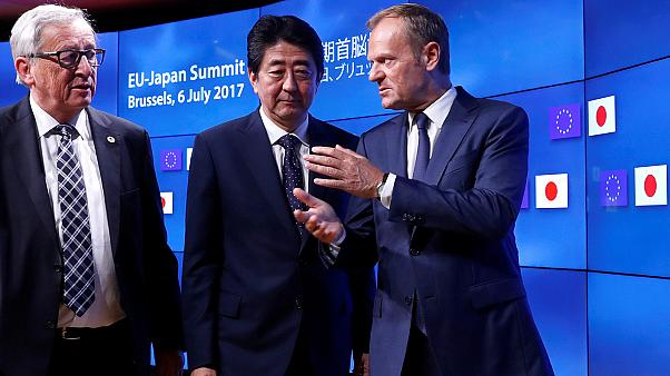 Kereskedelmi egyezmény az EU és Japán között
