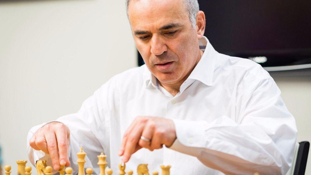 Kasparov regressa às competições de xadrez