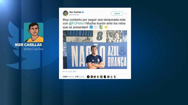 Iker Casillas renueva por una temporada su contrato con el Oporto