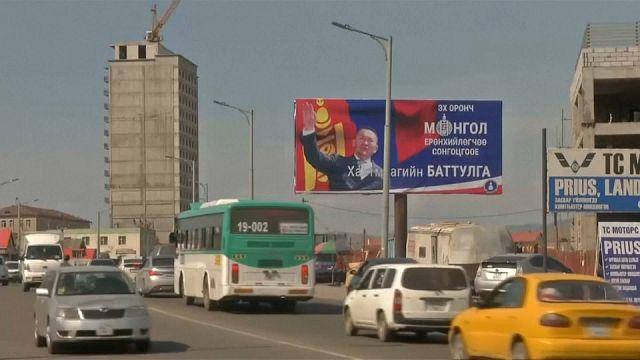 Moğolistan yeni devlet başkanını seçiyor