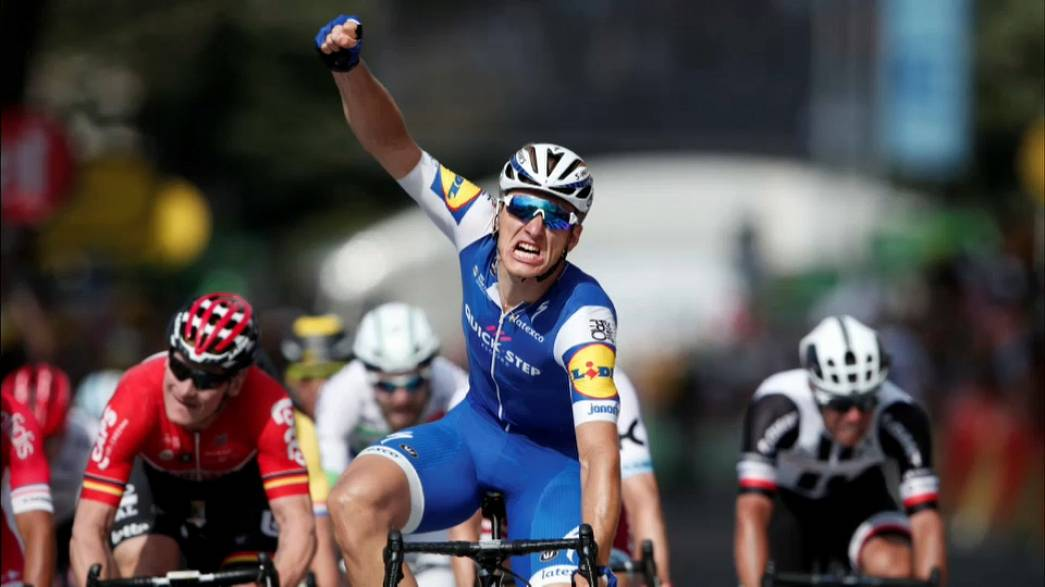 Second stage win for sprinter Marcel Kittel