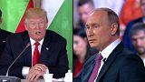 Путин и Трамп: первая встреча
