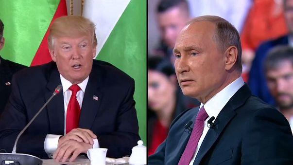 """La """"prima volta"""" di Trump e Putin"""