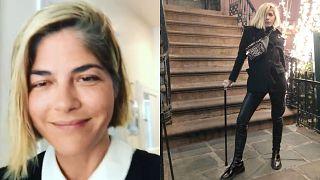 Style - Selma Blair's makeup tutorial