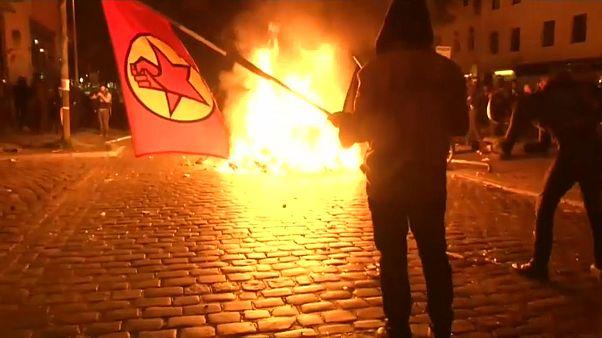 G20: Amburgo assediata dai Black Bloc