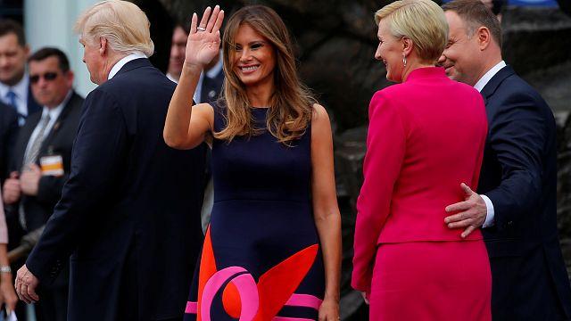Hat Trump da ein Problem? 10 Tweets zum Handshake-Hype