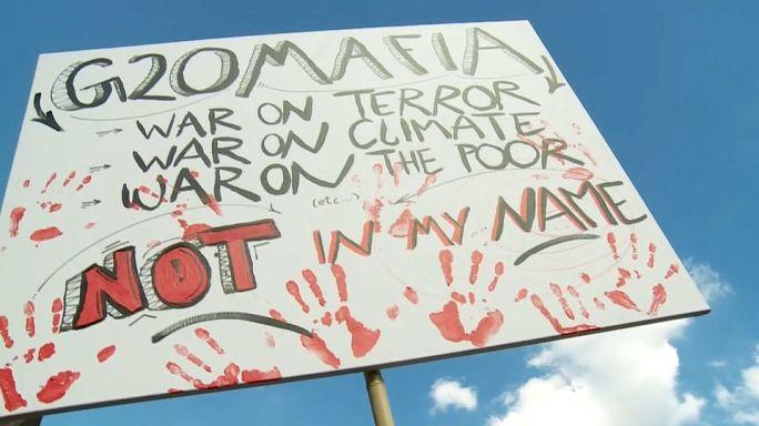 """Антиглобалисты в Гамбурге: """"Долой  G20!"""""""