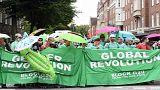 شاهد احتجاجات واسعة ضد انعقاد قمة العشرين في هامبورغ