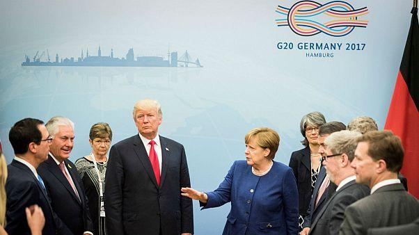 افتتاح قمة العشرين في هامبروغ سط واحتجاجات وأعمال عنف