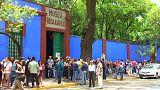 Obra de Frida Kahlo de volta ao México