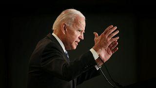 Image: Former VP Joe Biden Addresses Int'l Association Of Fire Fighters Con
