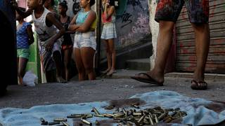 Waffengewalt in Brasiliens Slums
